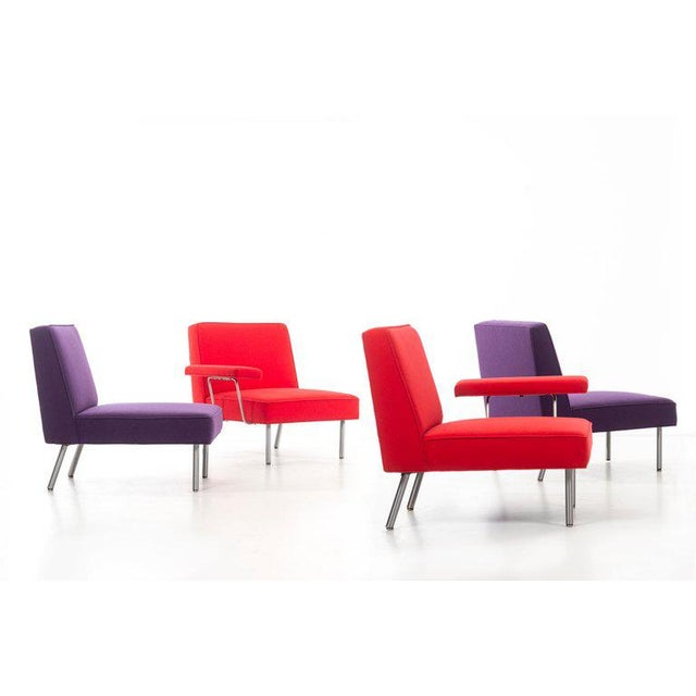 George Nelson (1908 - 1986) 5000 Series Seating System Four seat sectional sectional comprised of a two-seat setee and two...