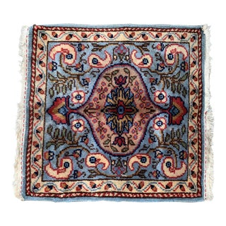 Vintage Persian Tabriz Hand-Knotted Wool Rug For Sale