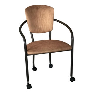 Modernist Rolling Chair For Sale