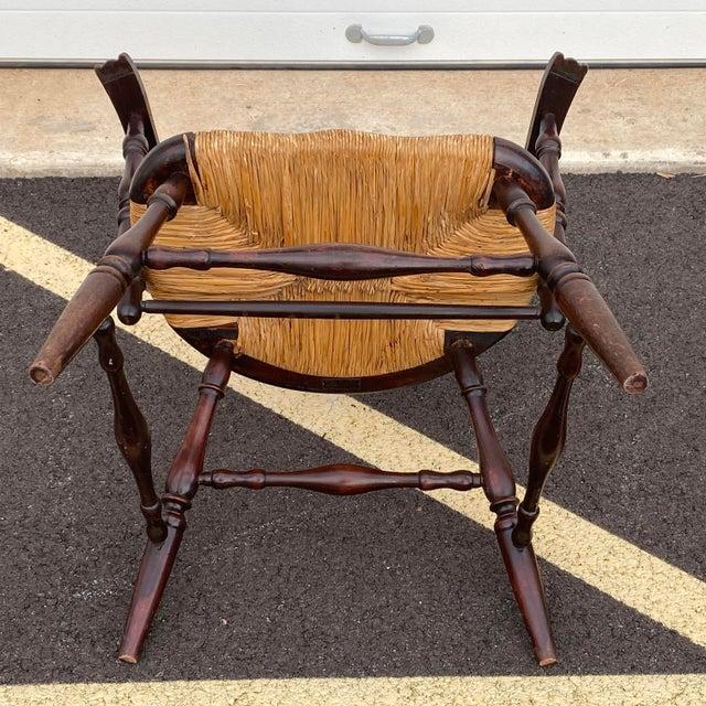 Antique Sack Back Windsor Chair For Sale - Image 10 of 13