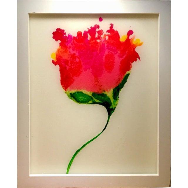 """Resin Botanical Framed 9x11"""" For Sale"""