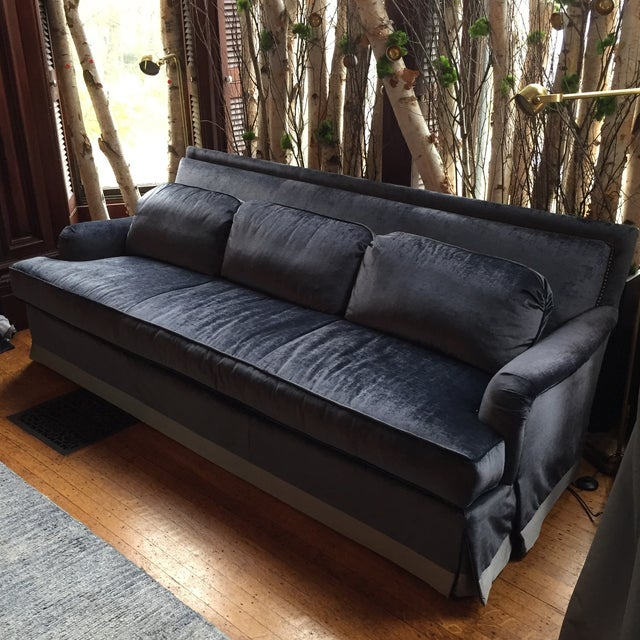"90"" Vintage Sofa - Image 3 of 7"