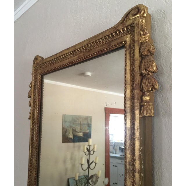 Antique French Gold Leaf Gilt Mirror - Image 6 of 9
