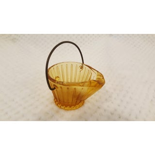 Golden Coal Pail Shaped Ash Tray Preview