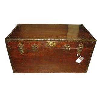 Antique Chinese Wooden Chest