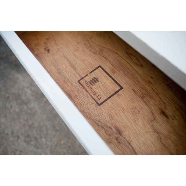 Wood Dixie Antique White Shangri-La 6-Drawer Dresser For Sale - Image 7 of 10