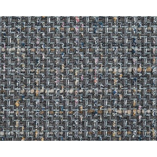 Hinson for the House of Scalamandre Confetti Fabric in Dark Grey For Sale