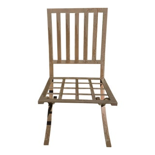 Mid Century Style Barcelona Style Patio Chair For Sale