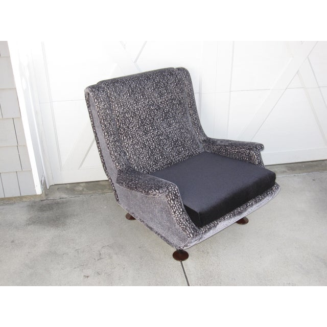 Marco Zanuso Regent Italian Lounge Chair - a Pair For Sale In Los Angeles - Image 6 of 12