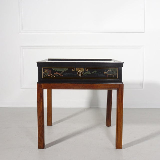 Drexel Heritage Chinoiserie Chippendale Side Table For Sale - Image 12 of 12