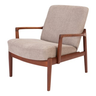 Model 125 Lounge Chair by Tove & Edvard Kindt-Larsen for France & Son For Sale