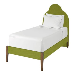 The Crown Bed - Twin - Kate - Como, Kelly Green For Sale