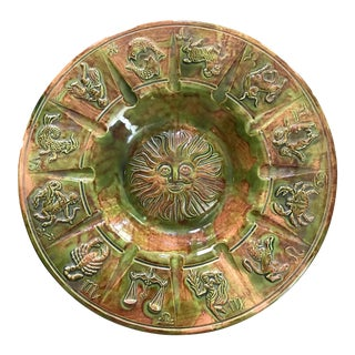 Zodiac Ash Receiver Catchall Dish For Sale