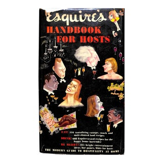 """Esquire's """"Handbook for Hosts"""" Book For Sale"""