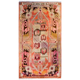 Wonderful Early 20th Century Khotan Rug For Sale