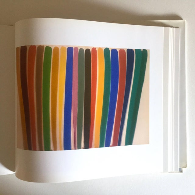 """Vintage 1st Edtn """"Morris Louis Moma"""" Collector's Abstract Expressionist Art Book, 1986 For Sale In New York - Image 6 of 13"""
