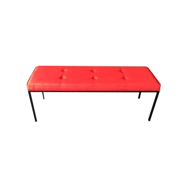 Custom Powder Coated Steel Bench - Image 1 of 7