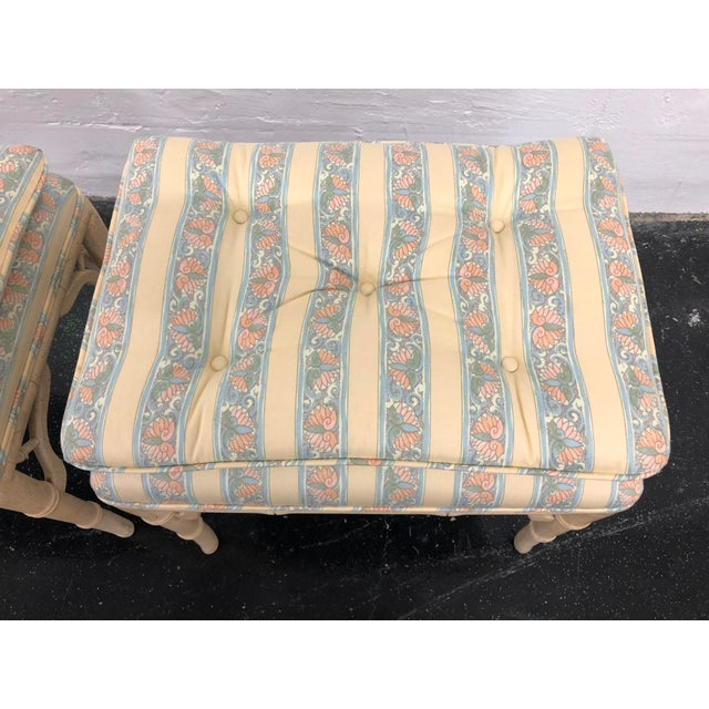 This Pair of Regency style benches will mix well with your Regency, traditional, or eclectic style decor. Perfect for the...