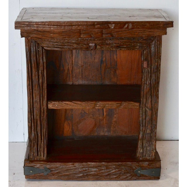 Rustic Simple Side Table For Sale In Los Angeles - Image 6 of 6