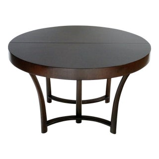 t.h. Robsjohn Gibbings Expandable Dining Table