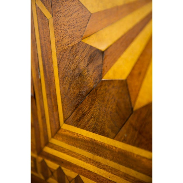 Late 19th Century 19th C. Victorian Tilt-Top Marquetry Occasional Table For Sale - Image 5 of 13