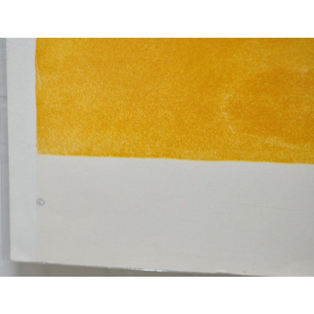 """1960s Vintage """"Roll Down"""" Color Lithograph by James Rosenquist For Sale In San Francisco - Image 6 of 7"""