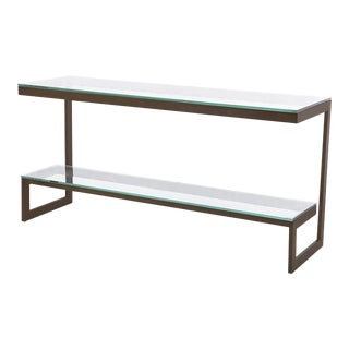 Blink Home Stepped Console Table For Sale
