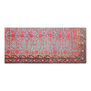 Antique Khotan Rug - 4'6″ x 9'3″ For Sale