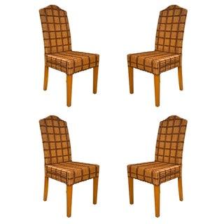 Palecek Wicker Side Chairs - Set of 4 For Sale