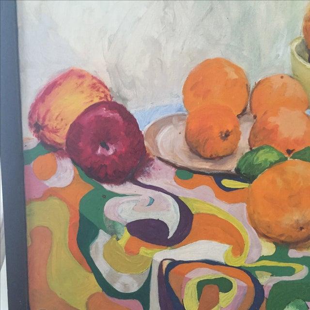Fruit Still Life by Lynn Molenda, 1968 - Image 6 of 9