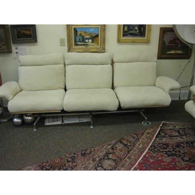 B&B Italia B & B Italia Reclining Sofa For Sale - Image 4 of 6