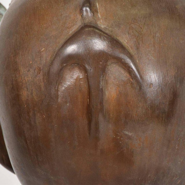 Surrealist Bronze Sculpture, Mexico, 1960s For Sale In San Diego - Image 6 of 13