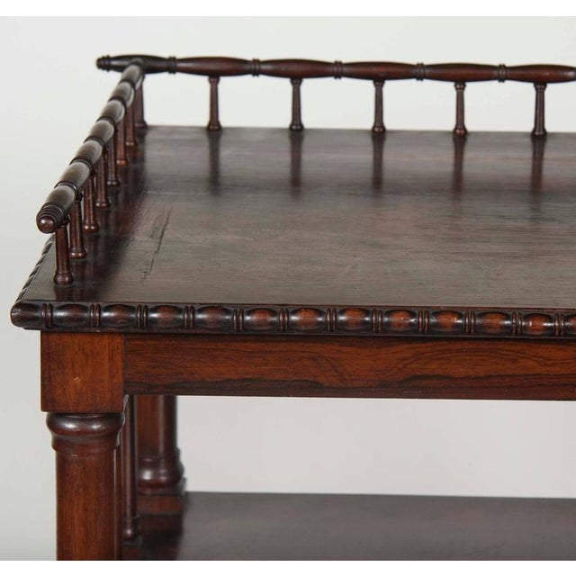 Traditional William IV Rosewood Whatnot/ Etagere For Sale - Image 3 of 10
