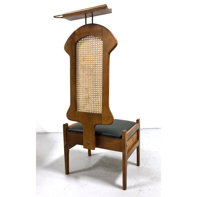 Mid Century Italian Modern Men's Valet Chair For Sale - Image 4 of 11
