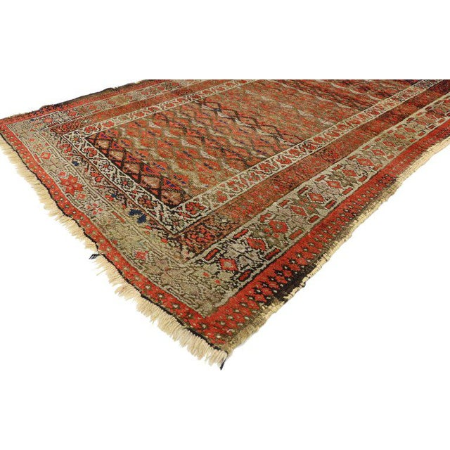 Early 20th Century 20th Century Persian Sarab Rug - 3′8″ × 6′1″ For Sale - Image 5 of 6