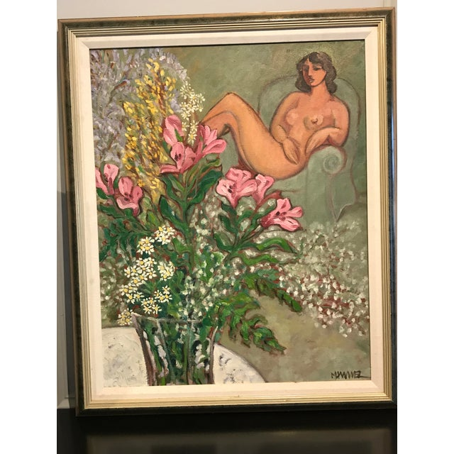 Modern Painting, in the Style of Matisse For Sale - Image 9 of 9