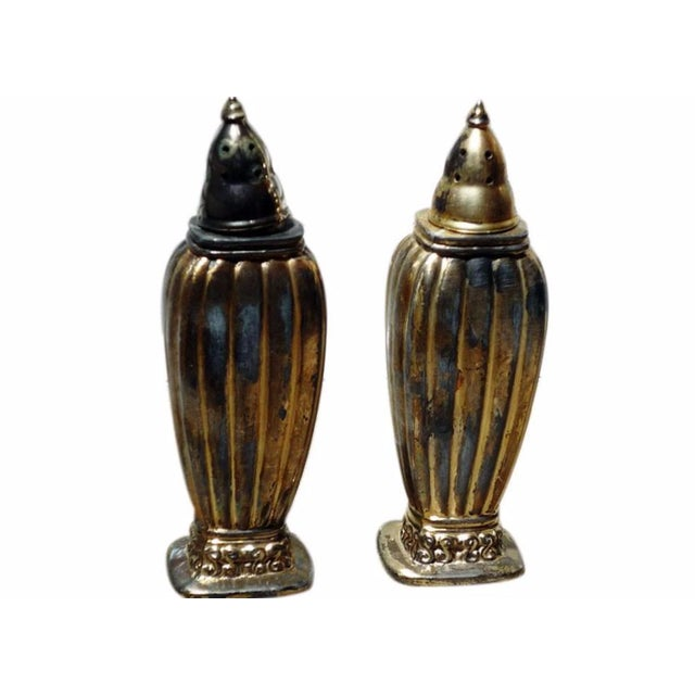 Antique Salt And Pepper Shakers - Pair For Sale