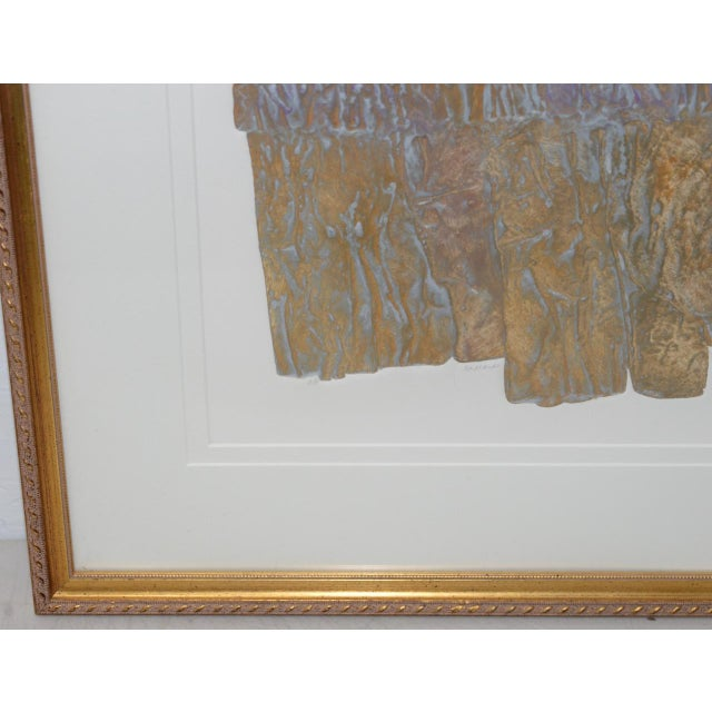 "Janet Jones ""Badlands"" Etching W/ Aquatint C.1983 For Sale - Image 4 of 11"