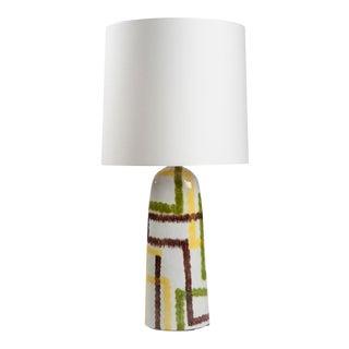 Ceramic Lamp Italy 1950