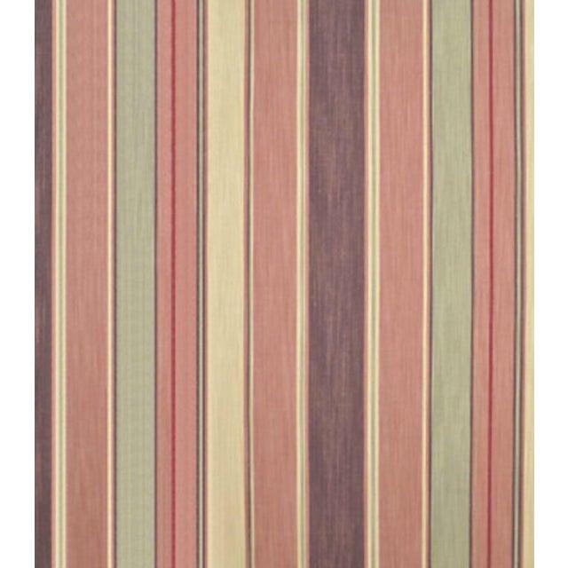 Ralph Lauren Saddle Peak Stripe Fabric - 4 Yards - Image 2 of 2