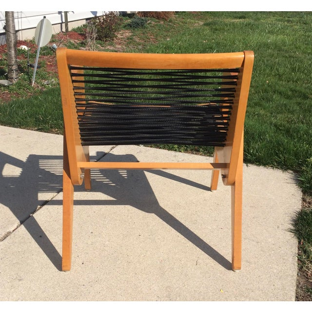 Robert Kayton Cord Chair Vintage Mid Century Modern Excellent original condition. Some edge wear and scuffs as expected...