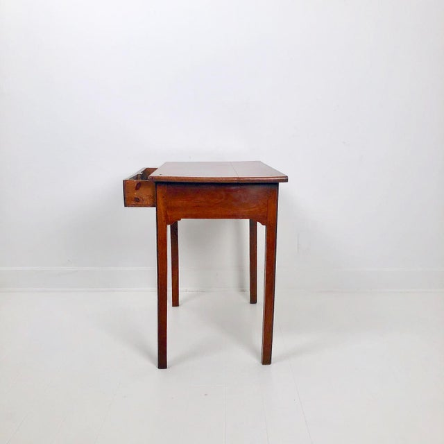 Chippendale Mahogany One Drawer Table, England Circa 1780 For Sale - Image 4 of 7