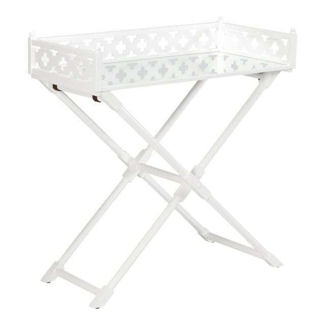 Chelsea House Inc Mirror Coaching Table For Sale