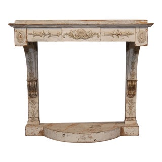 Swedish Empire Console Table For Sale