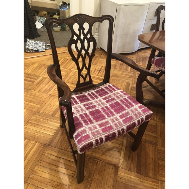 Traditional Antique Chippendale Dining Chairs - Set of 10 For Sale - Image 3 of 12