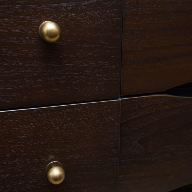 Lacquer Stanley Furniture Mid-Century Modern Lacquered Low Dresser For Sale - Image 7 of 7