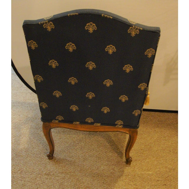Custom Louis XV Style Arm Chairs- A Pair - Image 8 of 8