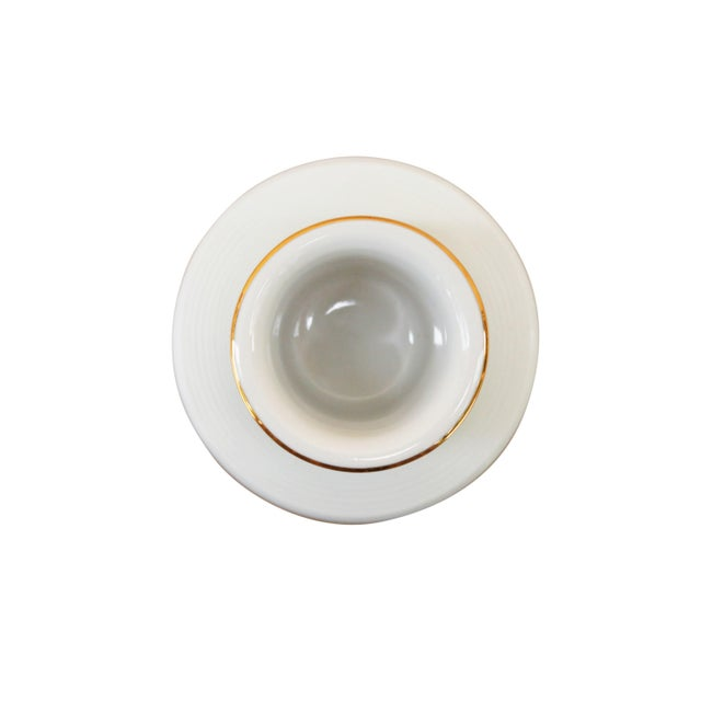 Late 20th Century Parisian Cafe French Ceramic Match Striker For Sale - Image 5 of 6