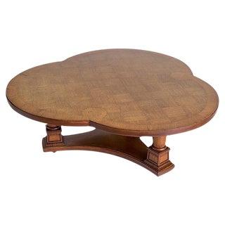Mid-Century Trefoil Coffee Table