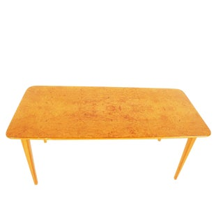 Swedish Art Moderne Burlwood Coffee Table